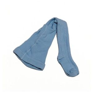 Blue Tights Girl Size 2-3yo